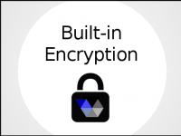 Built-in Encryption