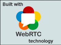 Built with WebRTC technology